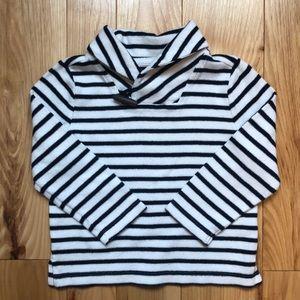 Navy Striped Pullover